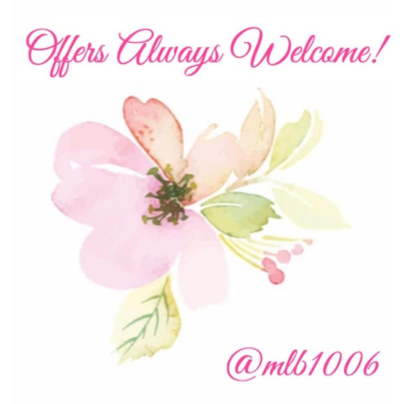 Offers always welcome! 🌸